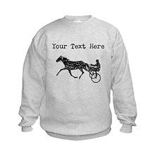Distressed Harness Racing (Custom) Sweatshirt