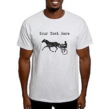 Distressed Harness Racing (Custom) T-Shirt