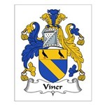 Viner Family Crest Small Poster