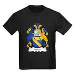 Viner Family Crest Kids Dark T-Shirt