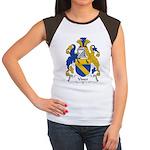 Viner Family Crest Women's Cap Sleeve T-Shirt