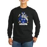 Vincent Family Crest Long Sleeve Dark T-Shirt