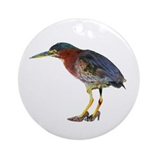 Little Bird Wearing Heels Keepsake (Round)