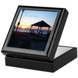 New Jersey Keepsake Box: Sunset