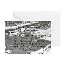 Christmas Season Blessings Greeting Cards 20/Pk