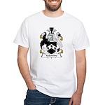 Valentine Family Crest White T-Shirt