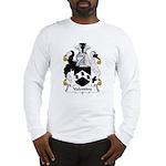 Valentine Family Crest  Long Sleeve T-Shirt