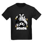 Valentine Family Crest Kids Dark T-Shirt