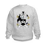 Valentine Family Crest Kids Sweatshirt