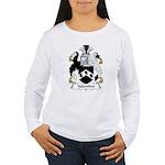 Valentine Family Crest  Women's Long Sleeve T-Shir