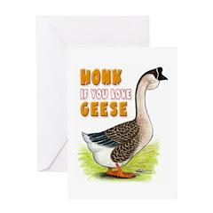Love Geese? Greeting Card