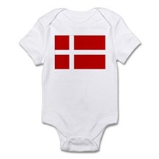Danish Flag Onesie