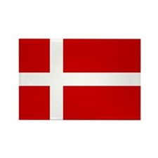 Danish Flag Rectangle Magnet