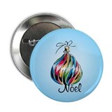 Noel Ornament Button