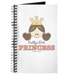 Daddy's Princess Pink Brown Journal
