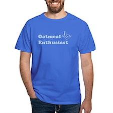 Oatmeal Enthusiast Royal Blue T-Shirt