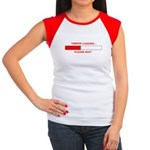 TEMPER LOADING... Women's Cap Sleeve T-Shirt