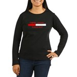 TEMPER LOADING... Women's Long Sleeve Dark T-Shirt