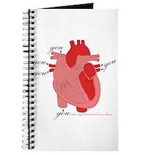 You Enter My Heart Journal