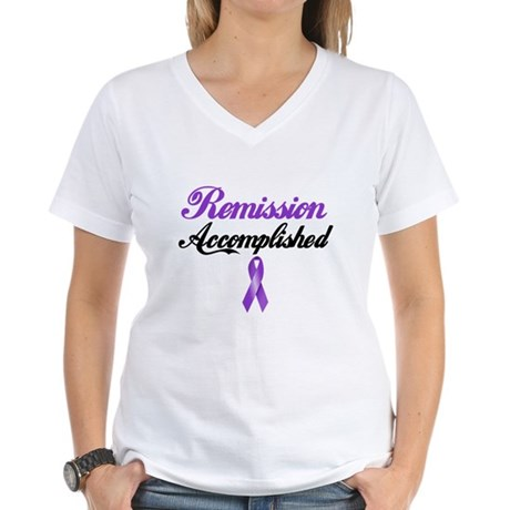 Remission HL Women's V-Neck T-Shirt