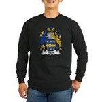 Tryon Family Crest Long Sleeve Dark T-Shirt