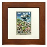 Nantucket Poster Framed Tile