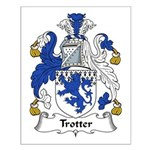 Trotter Family Crest Small Poster