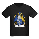 Trist Family Crest Kids Dark T-Shirt