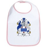 Treys Family Crest Bib
