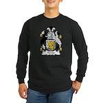 Trevor Family Crest Long Sleeve Dark T-Shirt