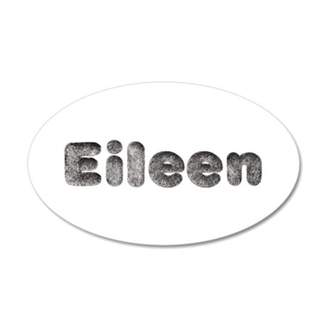 Eileen Wolf 35x21 Oval Wall Decal