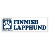 FINNISH LAPPHUND Bumper Bumper Sticker