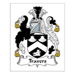 Travers Family Crest Small Poster