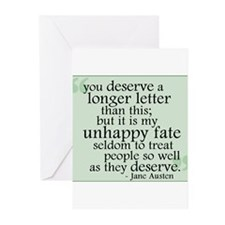 Jane Austen Greeting Cards (Pk of 10)