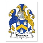 Towgood Family Crest Small Poster