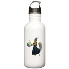 Squirrel Dress Cake Water Bottle