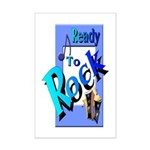 Ready To Rock Mini Poster Print