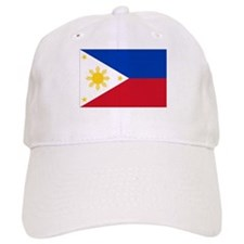 Filipino Flag Baseball Cap