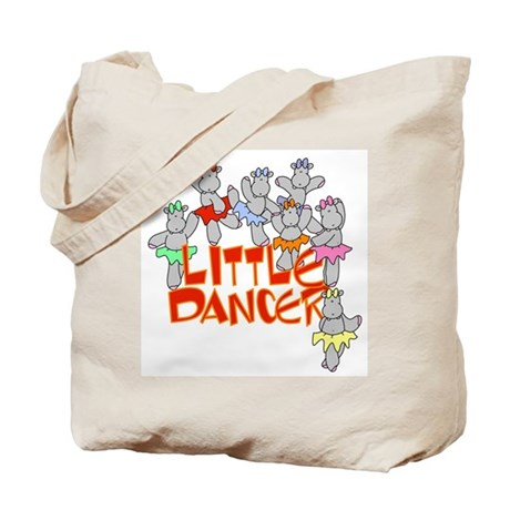 Hippo Little Dancer Tote Bag