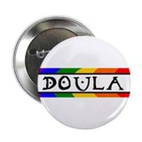 "Doula Rainbow 2.25"" Button (10 pack)"