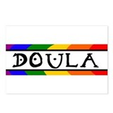 Doula Rainbow Postcards (Package of 8)