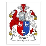 Torner Family Crest Small Poster
