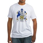 Tooker Family Crest Fitted T-Shirt