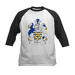 Tooker Family Crest Kids Baseball Jersey