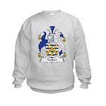 Tooker Family Crest Kids Sweatshirt