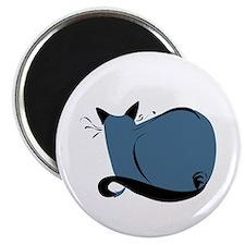 Blue Cat Magnet
