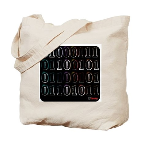 Binary Code Geek Tote Bag