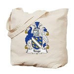 Tonge Family Crest Tote Bag