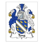 Tong Family Crest Small Poster
