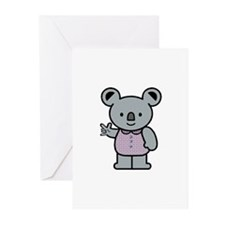 Koala with an ASL message Greeting Cards (Pk of 10